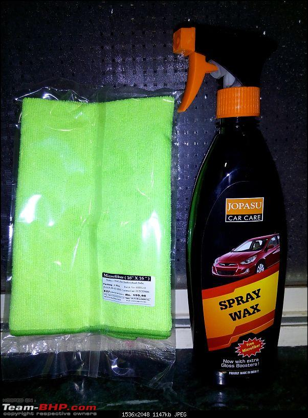 Orange Tank to conquer the road - Mahindra TUV3OO owner's perspective-jopasu-spray-wax-dispenser-free-micro-fibre-cloth-worth-rs-199.jpg