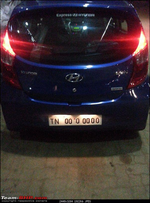 The Cute Little Blue-bee: Hyundai Eon Sportz!-20140929_204647.jpg