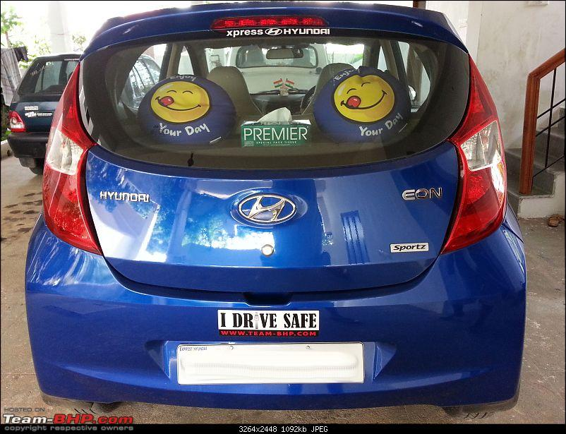 The Cute Little Blue-bee: Hyundai Eon Sportz!-rear_view.jpg