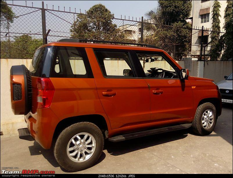Orange Tank to conquer the road - Mahindra TUV3OO owner's perspective-img_20160227_142106.jpg