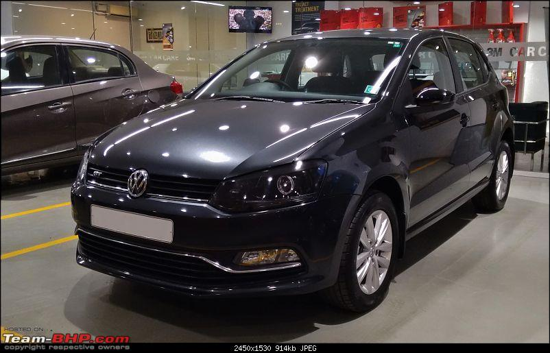 Photo Gallery - Carbon Steel Grey VW Polo GT TSI comes home - Team-BHP