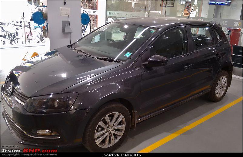 Carbon Steel Grey VW Polo GT TSI comes home-before.jpg