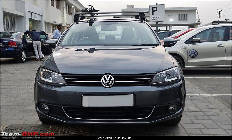 Platinum Grey VW Jetta 2.0 TDI Highline DSG comes home-front.jpg