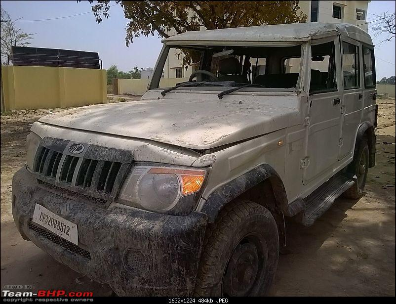 My Mahindra Bolero DI: A tough nut, but not as tough as I would have liked. EDIT -Stolen & Recovered-img20160311wa0006.jpg