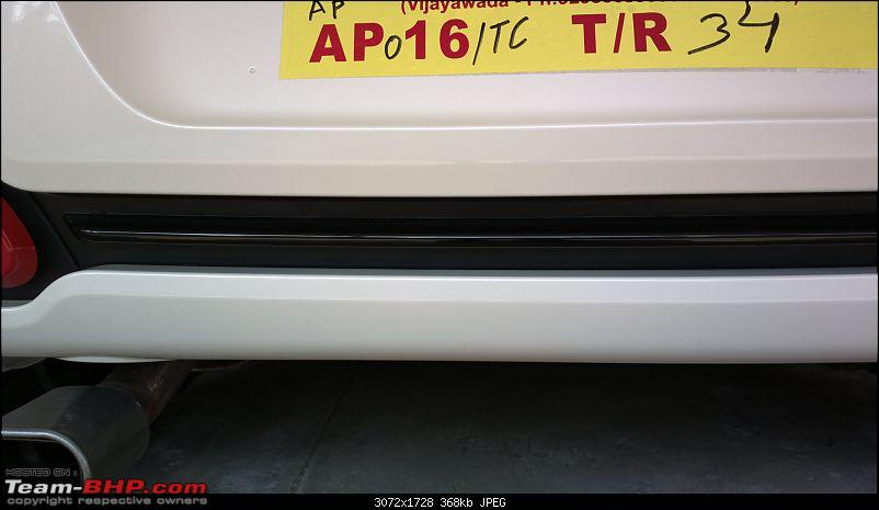The White Scorpion - Fiat Abarth Punto-hard-clean-areas-rear-bumper.jpg
