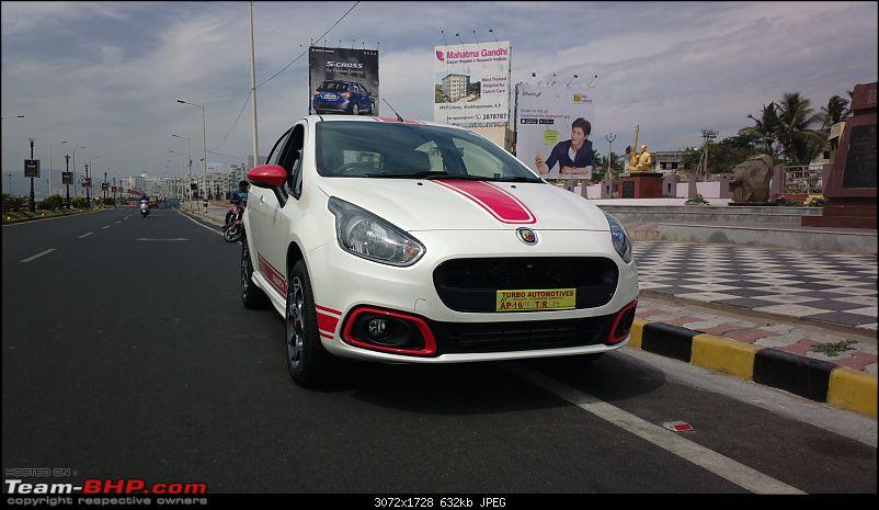 The White Scorpion - Fiat Abarth Punto-another-front-view.jpg