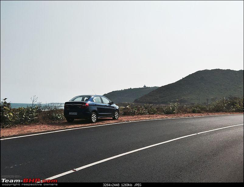 Ford Aspire TDCi : My Blue Bombardier, flying low on tarmac EDIT : 33,000kms COMPLETED-coastline.jpg