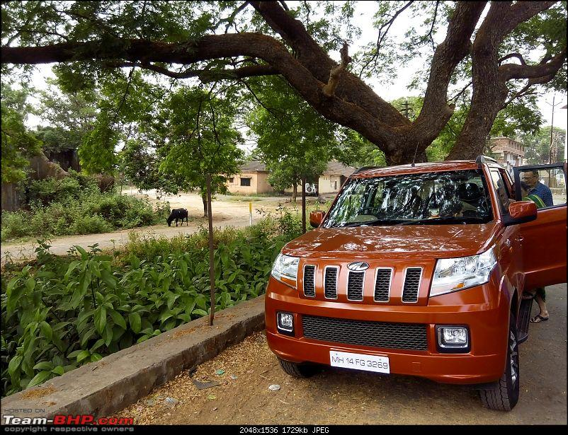 Orange Tank to conquer the road - Mahindra TUV3OO owner's perspective-img_20160420_161955.jpg