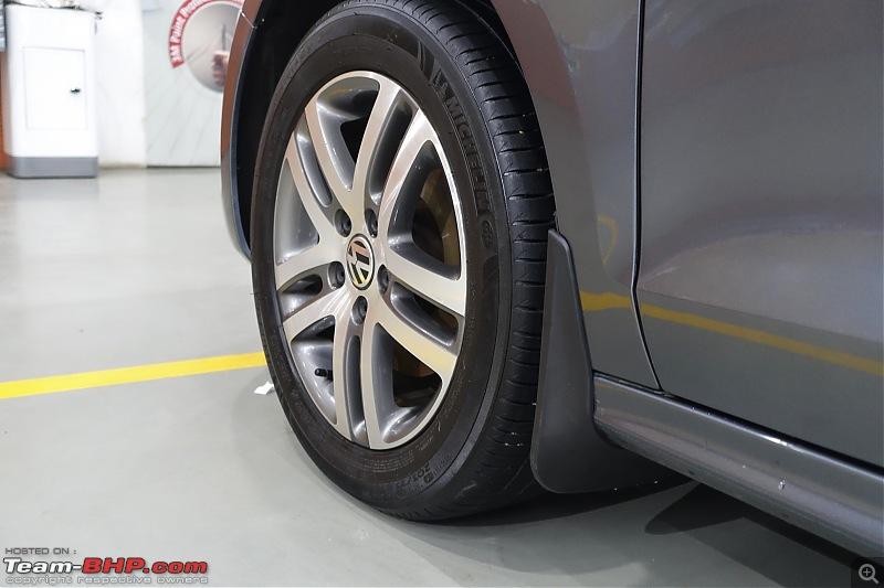Platinum Grey VW Jetta 2.0 TDI Highline DSG comes home-mudflap-front.jpg