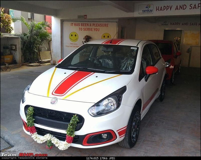 Palio 1.6 to the Fiat Abarth Punto. EDIT: 34,000 kms done-5.jpg