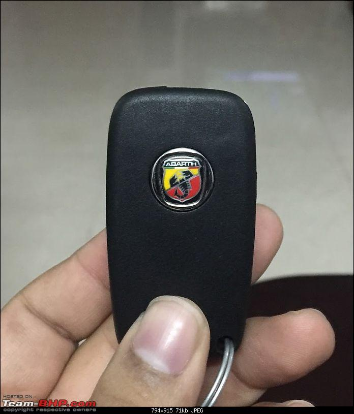 From a Palio 1.6 to the Fiat Abarth Punto. EDIT: 20,000 km done!-keys.jpg