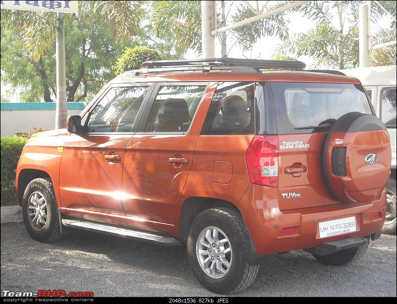 Orange Tank to conquer the road - Mahindra TUV3OO owner's perspective-dscn5546.jpg