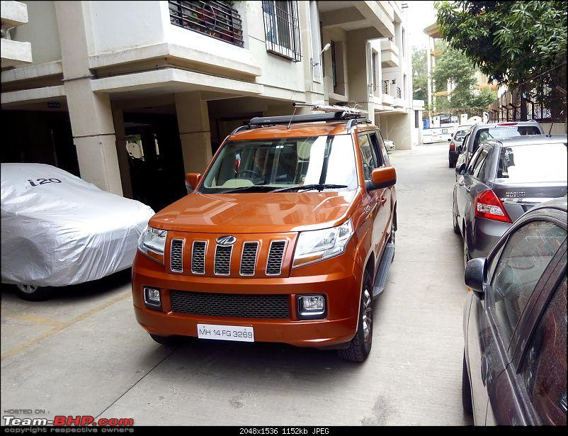 Orange Tank to conquer the road - Mahindra TUV3OO owner's perspective-img_20160611_124310.jpg