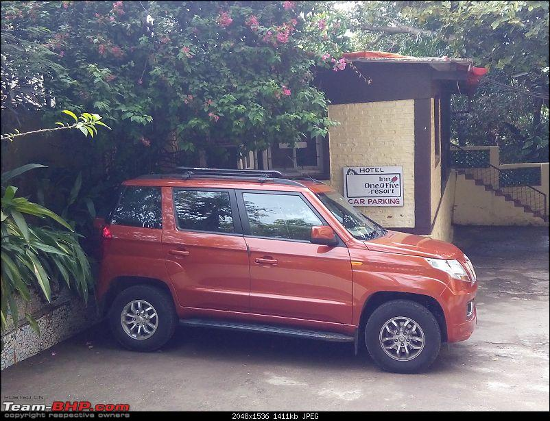 Orange Tank to conquer the road - Mahindra TUV3OO owner's perspective-img_20160618_123148.jpg