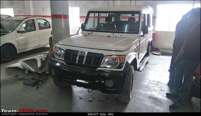 My Mahindra Bolero DI: A tough nut, but not as tough as I would have liked. EDIT -Stolen & Recovered-10.jpg