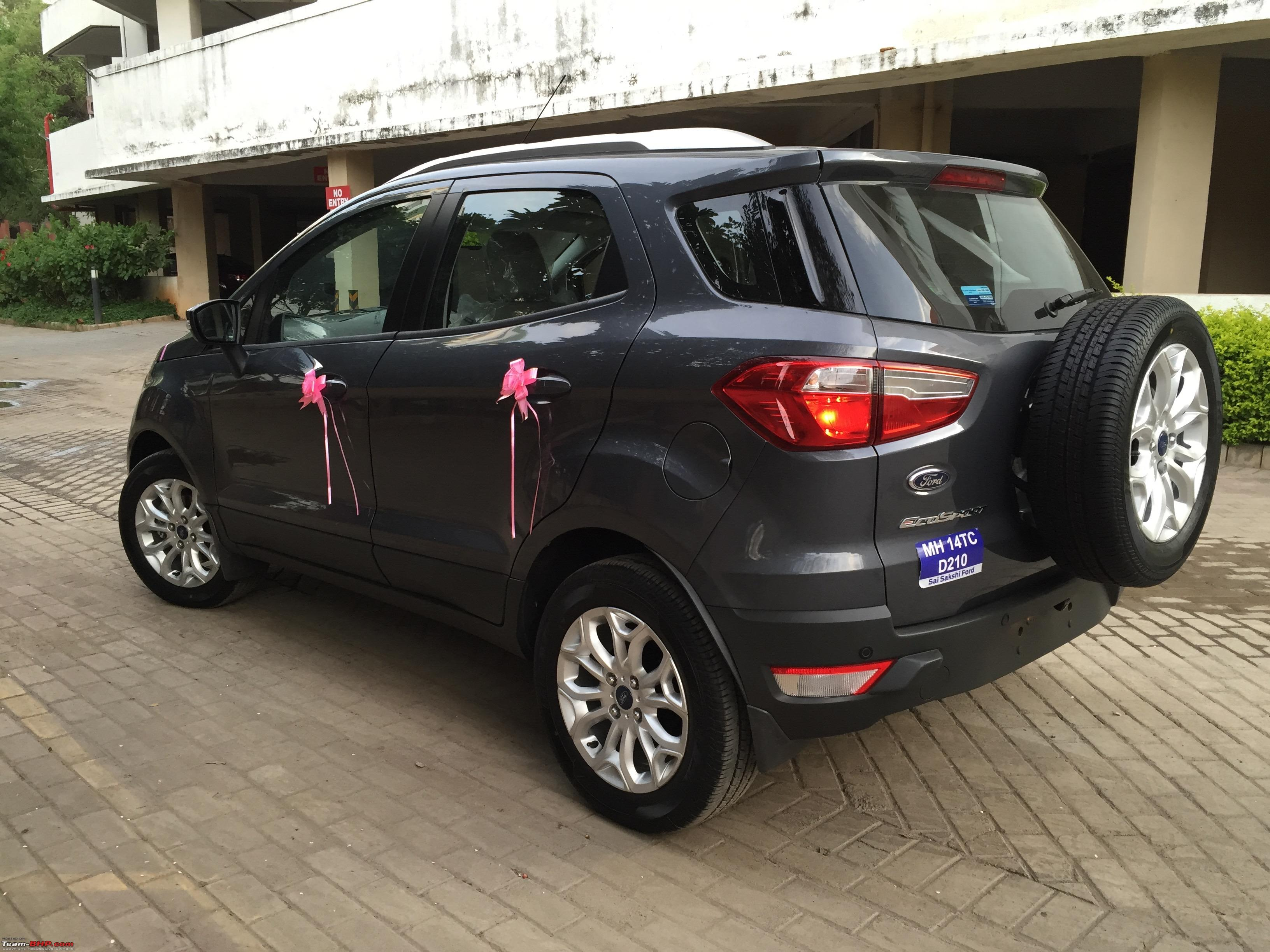 Back To Being Nomadic Ford EcoSport 15L Petrol Titanium AT Img 2137