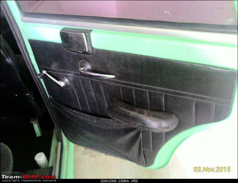 Enga ooru vandi: The story of how a 1985 Premier Padmini got me-reardoorpads.jpg