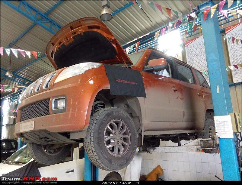 Orange Tank to conquer the road - Mahindra TUV3OO owner's perspective-img_20160730_095404.jpg
