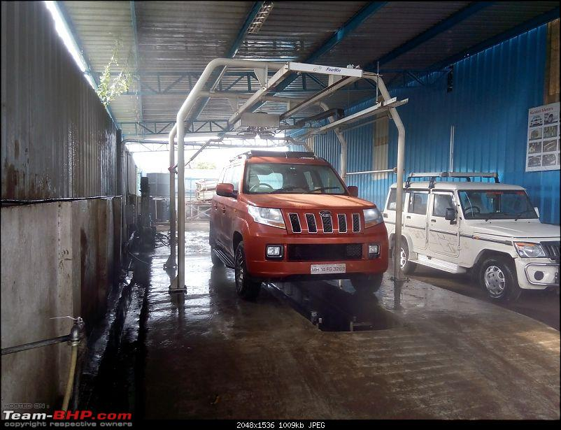 Orange Tank to conquer the road - Mahindra TUV3OO owner's perspective-img_20160730_170510.jpg
