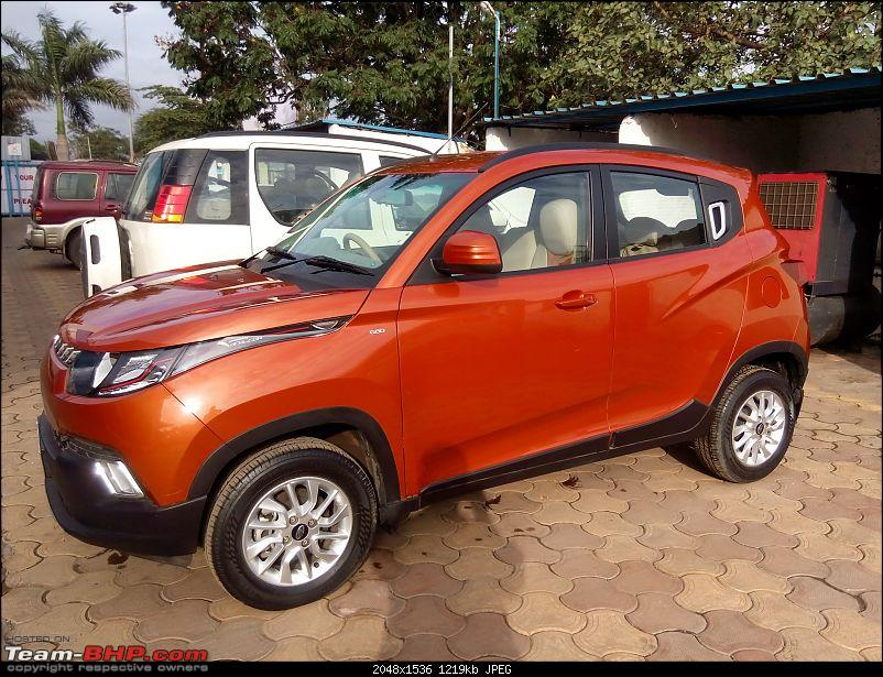 Orange Tank to conquer the road - Mahindra TUV3OO owner's perspective-img_20160730_172823.jpg
