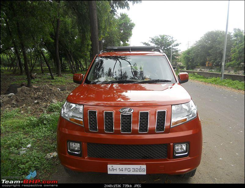 Orange Tank to conquer the road - Mahindra TUV3OO owner's perspective-dscn5892.jpg