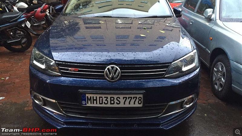 My VW Jetta Highline TDI - Tempest Blue. EDIT: Now with Self parking & more-fullsizerender-2.jpg
