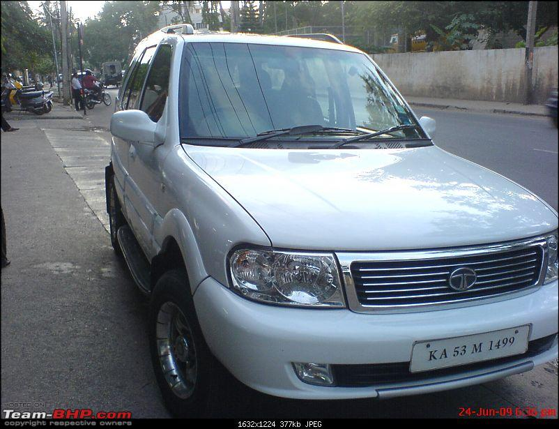 2006 Tata Safari 3.0L : 3rd day of ownership-dsc00001.jpg