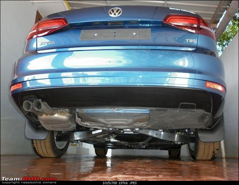 Silk Blue VW Jetta 1.4L TSI - My BlueJay joins duty-rear-view.jpg
