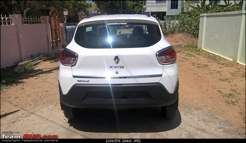 My Renault Kwid 1.0L RXT(O) - Ownership Review-rear.jpg
