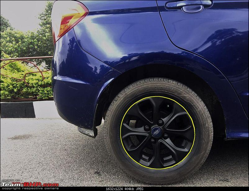 Ford Aspire TDCi : My Blue Bombardier, flying low on tarmac EDIT : 35,000kms COMPLETED-mobikes-alloys-yellow.jpg