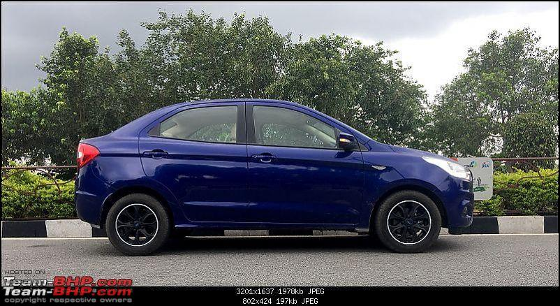 Ford Aspire TDCi : My Blue Bombardier, flying low on tarmac EDIT : 30,000kms COMPLETED-white-lip.jpg