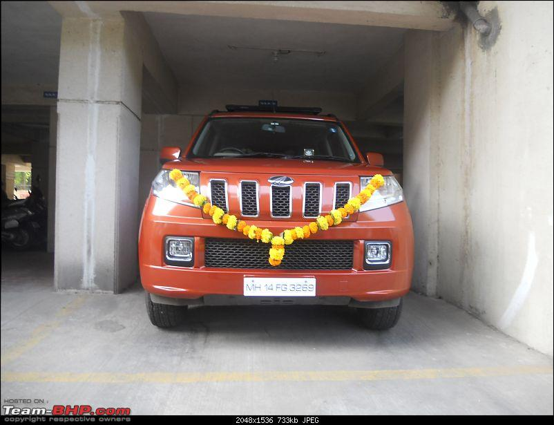 Orange Tank to conquer the road - Mahindra TUV3OO owner's perspective-dscn6073.jpg