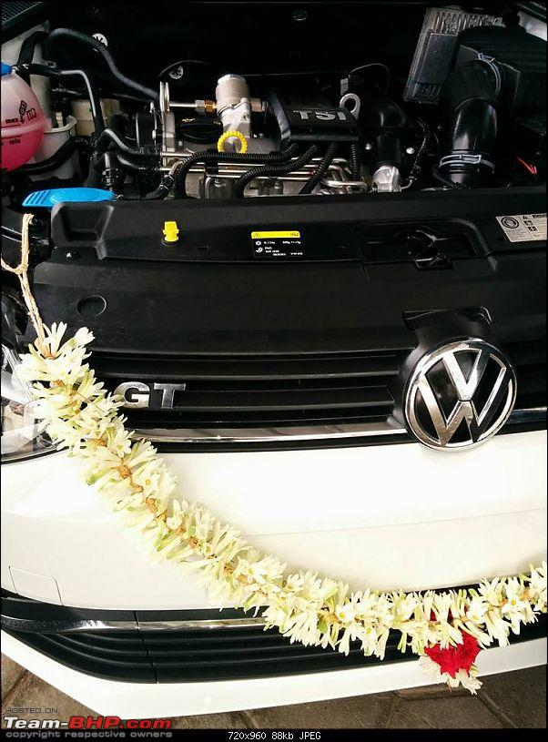 My White Lightning - Volkswagen Polo GT TSI-engine.jpg
