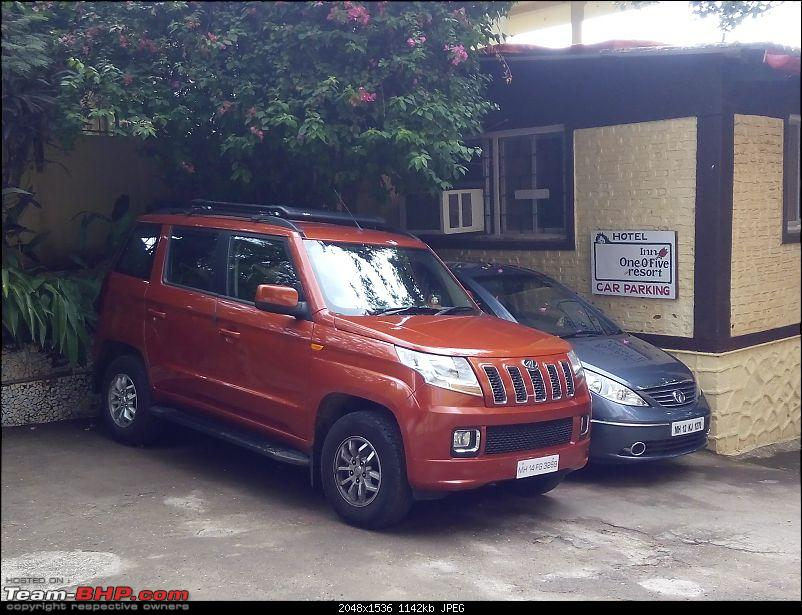 Orange Tank to conquer the road - Mahindra TUV3OO owner's perspective-img_20160618_123132.jpg