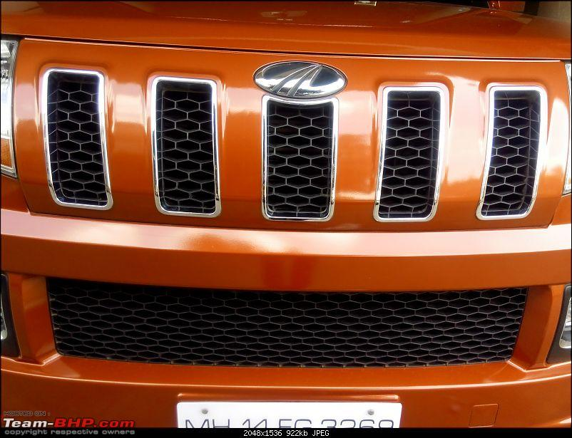Orange Tank to conquer the road - Mahindra TUV3OO owner's perspective-img_20161204_142246.jpg