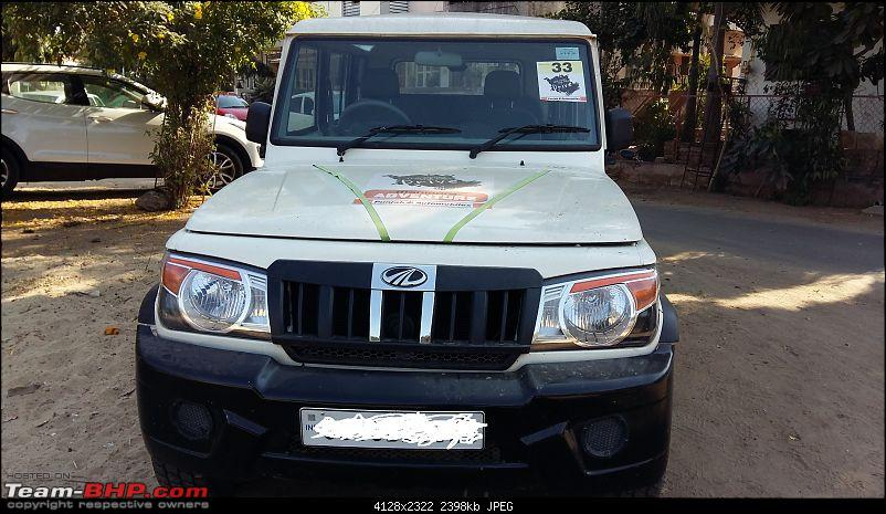 My Mahindra Bolero DI: A tough nut, but not as tough as I would have liked. EDIT -Stolen & Recovered-bolero-front.jpg