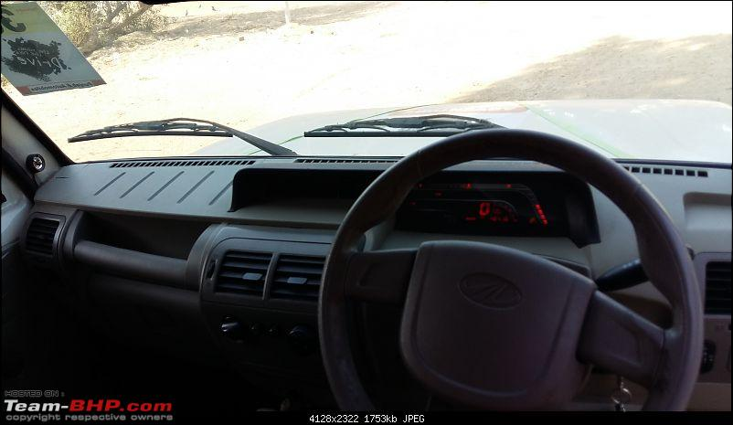 My Mahindra Bolero DI: A tough nut, but not as tough as I would have liked. EDIT -Stolen & Recovered-bolero-new-dash.jpg
