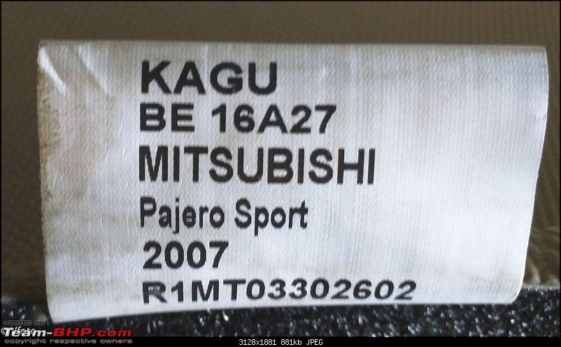 My three red diamonds : Mitsubishi Pajero Sport in blue & white-kagulabel.jpg