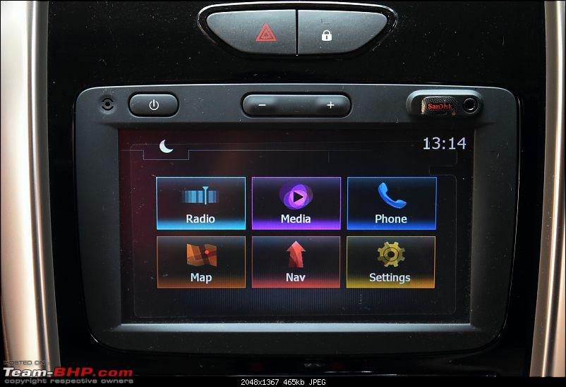 Ownership review of a Renault Duster AMT: 20,000 km update-7.-medianav-headunit.jpg