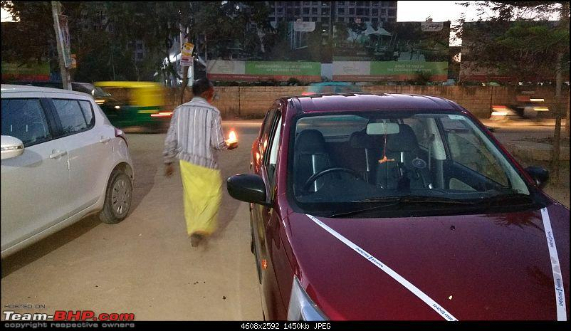 Shivam - Our new fire brick red Maruti Alto AMT VXi (O) - Now Sold-pujaa.jpg