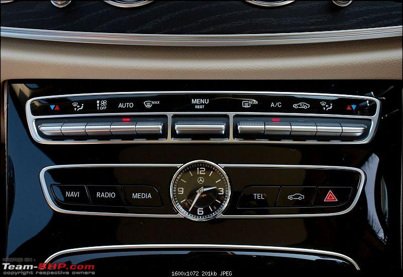 Driven: 2017 Mercedes E-Class-uppercentral-console-ac.jpg