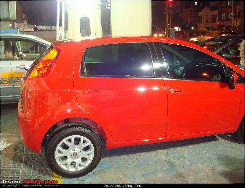 MY red italian beauty! Now delivered (Grande Punto MJD)-3.jpg