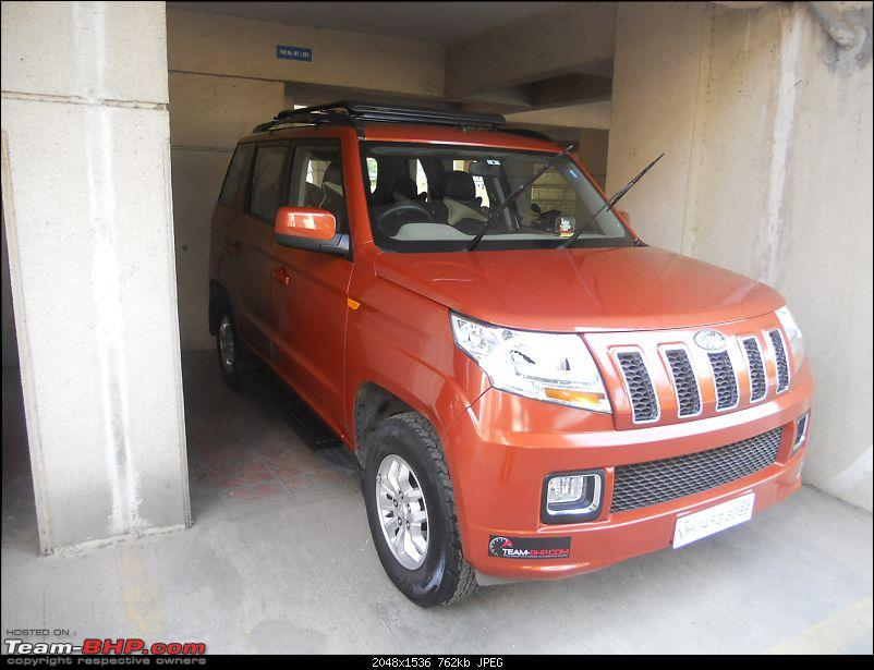 Orange Tank to conquer the road - Mahindra TUV3OO owner's perspective-dscn7165.jpg