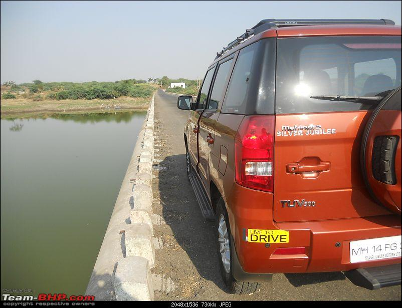 Orange Tank to conquer the road - Mahindra TUV3OO owner's perspective-dscn7296.jpg
