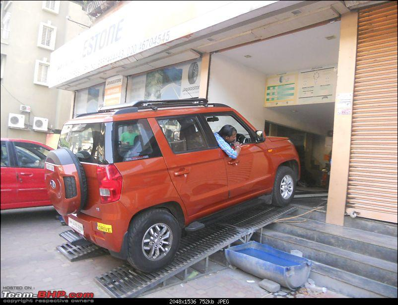 Orange Tank to conquer the road - Mahindra TUV3OO owner's perspective-dscn7411.jpg