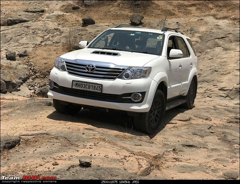 Toyota Fortuner 4x4 AT : My Furteela Ghonga! 2 years and 1,00,000 km up!-offroad1.jpg