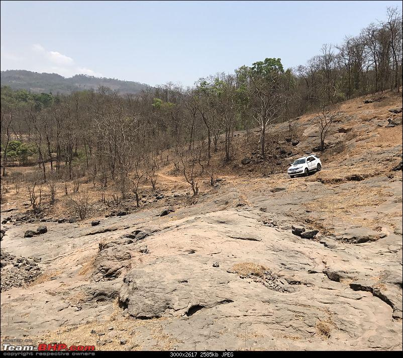 Toyota Fortuner 4x4 AT : My Furteela Ghonga! 2 years and 1,00,000 km up!-offroad3.jpg