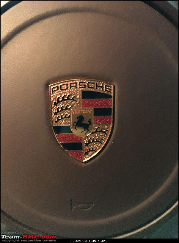 Porsche Panamera Edition Diesel : My new daily drive-steering-logo.jpg