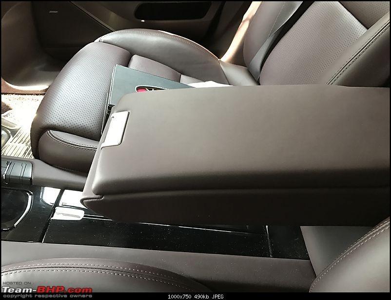 Porsche Panamera Edition Diesel : My new daily drive-small-armrest.jpg