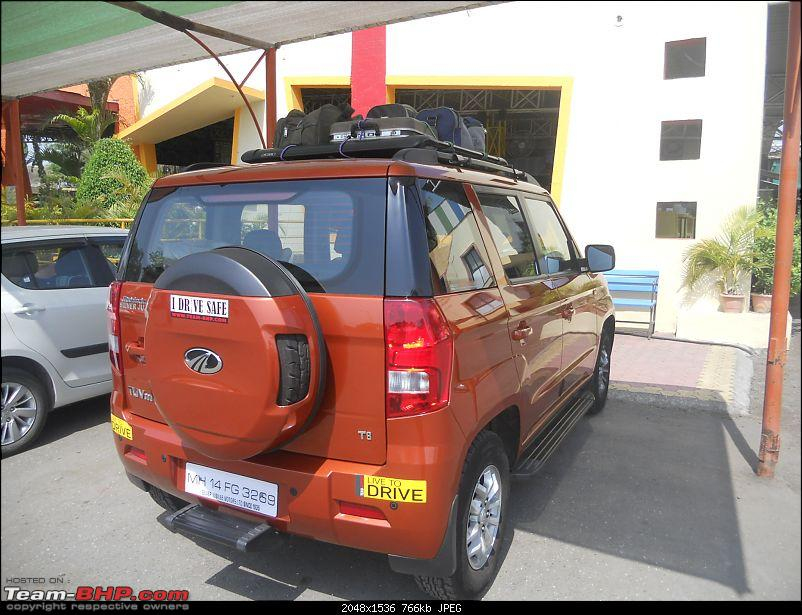 Orange Tank to conquer the road - Mahindra TUV3OO owner's perspective-dscn7552.jpg